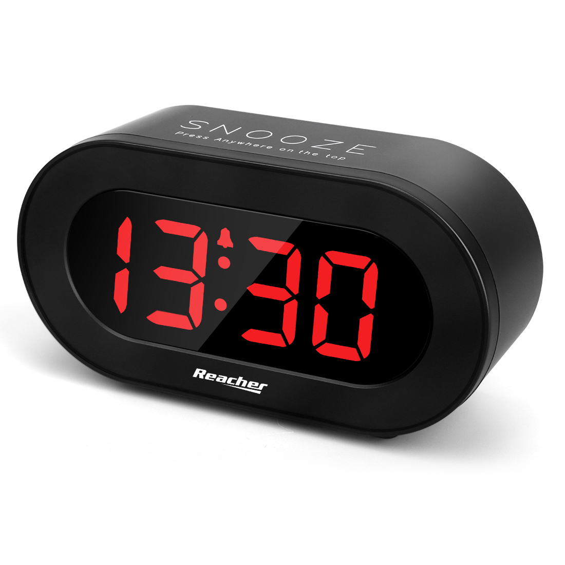 (A1C1S)Large LED Digital Alarm Clock with USB Charging Port