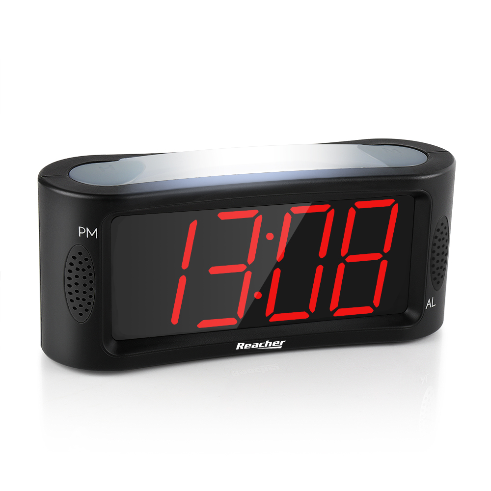 (A1L1)Large LED Digital Alarm Clock with Night Light