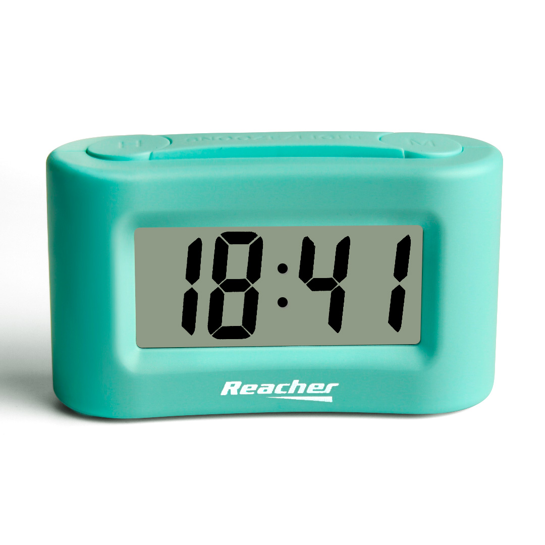 (MINI)Mini Battery Operated Alarm Clock with Snooze